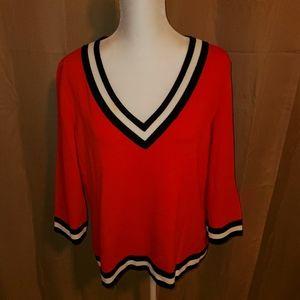 St John Collection 3/4 Sleeve Sweater Sz L EUC!